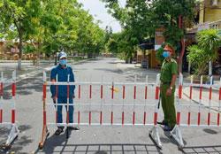 Thành phố Hội An tiếp tục cách ly xã hội từ
