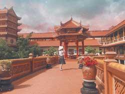 Chùa nam sơn đà nẵng, công trình kiến trúc hút du khách