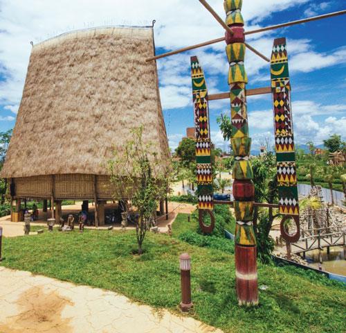 nhà rông kiến trúc tây nguyên